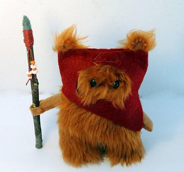 Star Wars Ewok Fur Doll Is Small But Ferocious Technabob