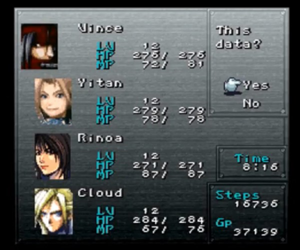 Final Fantasy VI Fan Mod Features Heroes from Different FF Games: Better than Dissidia?