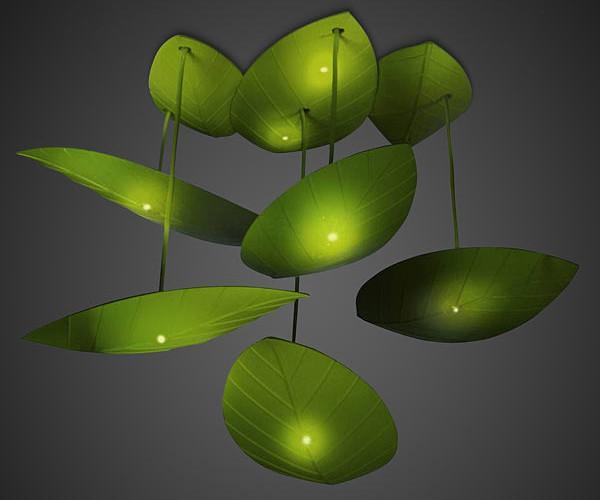 Lighting Fixture Puts Fireflies on Your Ceiling