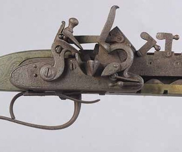 12-Shot Repeating Flintlock Rifle is Old-Timey Overkill