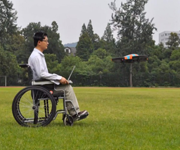 Mind-controlled Quadcopter Drone: Telekinesis Tech