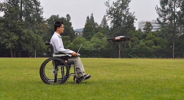 flyingbuddy 2 mind-controlled parrot drone