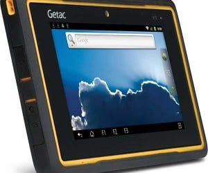 Getac Z710 Rugged Android Tablet Ready to Take a Beating