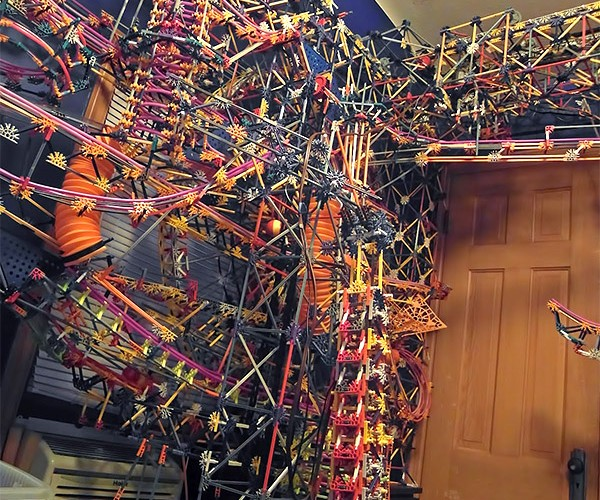 Clockwork is a Giant K'nex Ball Machine