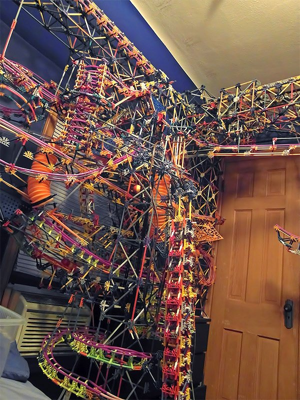 giant knex contraption
