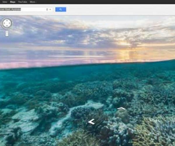 Google Maps Goes Captain Nemo with Underwater Views