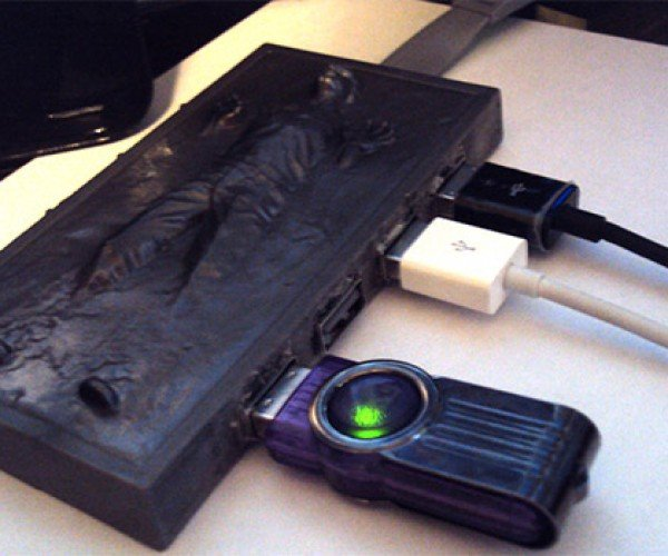 Han Solo Carbonite USB Hub Won't Freeze Your Connected Gadgets