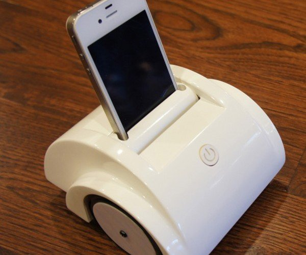 Helios iPhone Telepresence Robot: Small, Cheap & Available Soon