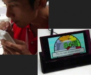 NTT DoCoMo Builds a Phone that Can Determine if You're Hungry or Not