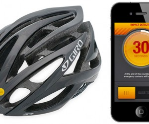 ICEdot Sensor for Helmets Sends for Help When You Crash