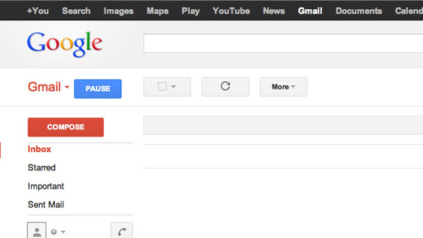 inbox pause gmail extension chrome button