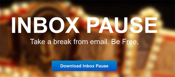 inbox pause email gmail extension chrome browser