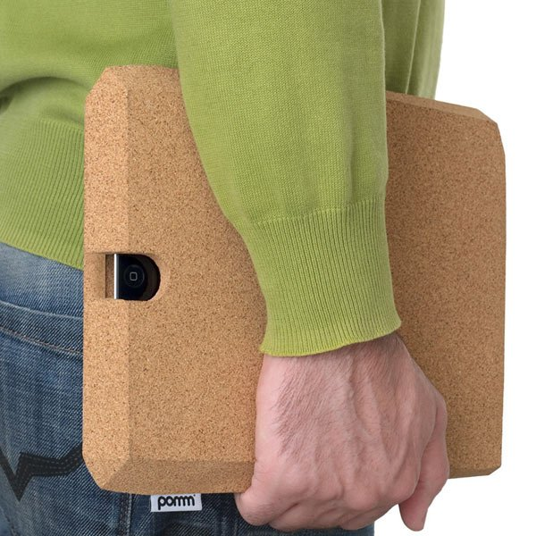ipadcorkcase pomm ipad cork mobile sustainable