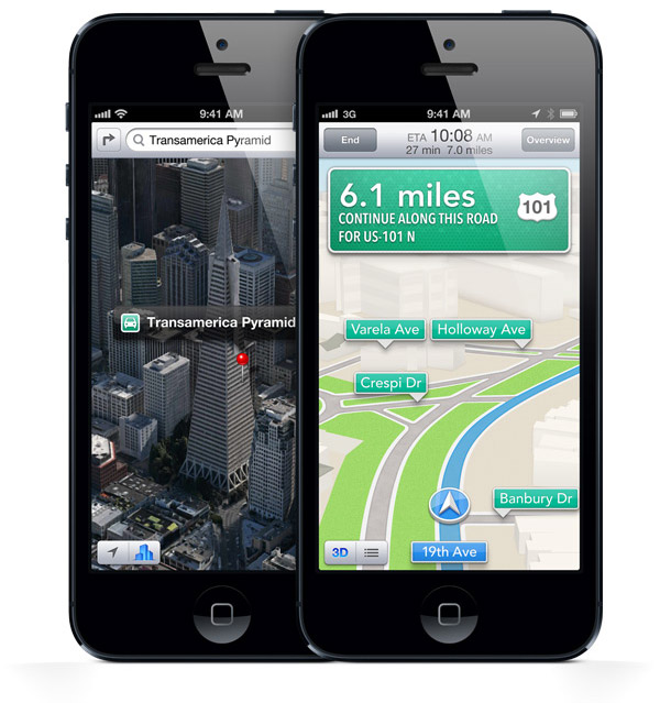 iphone 5 maps 2