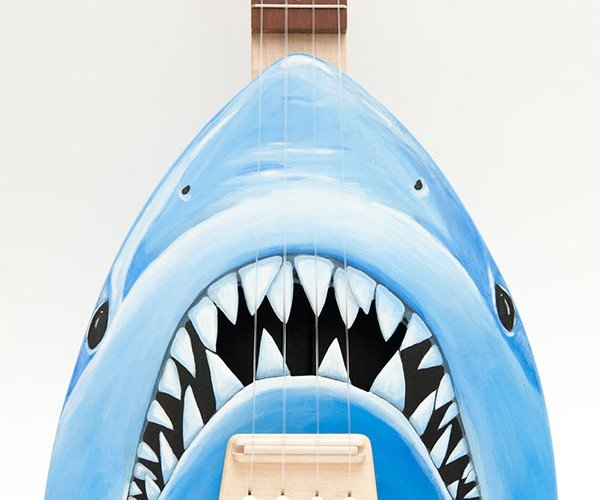 Jaws Shark Ukulele: This Was No Crafting Accident