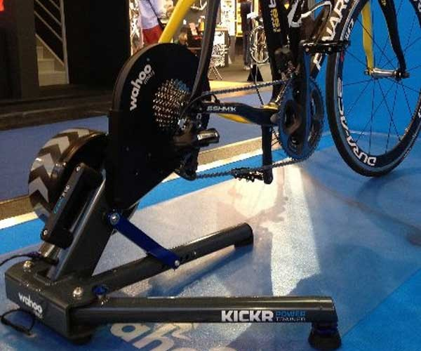 KICKR: iPhone Controlled Bike Trainer Makes Your 10-Speed Stationary