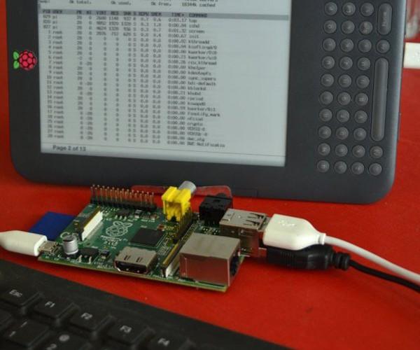 Kindleberry Pi: Hack Your Kindle Into Raspberry Pi Display