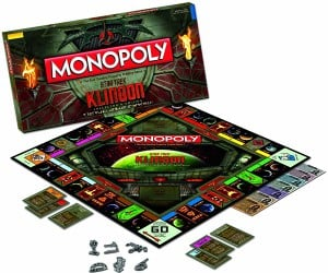 Klingon Monopoly: It's a Good Day to Roll the Dice