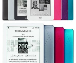 Kobo Unveils Three New eReader Models
