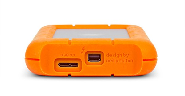 lacie neil poulton external hard drive ssd apple usb 3.0 thunderbolt
