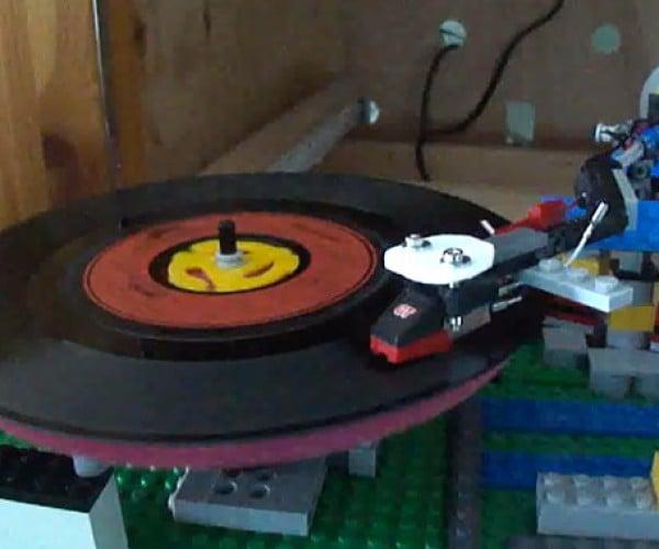 LEGO Record Player Makes Vinyl Sound Like the Devil's Music