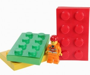 LEGO-Style Memo Pads – You Can't Snap These Together