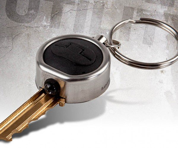 Locklite LED Key Attachment Unlocks the Dark
