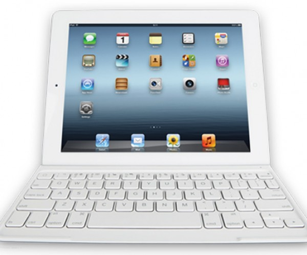 Logitech Ultrathin iPad Keyboard Now Matches White iPads