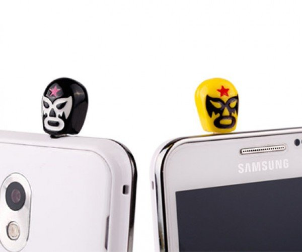 Luchador Plugs Put Empty Headphone Jacks in a Head Lock