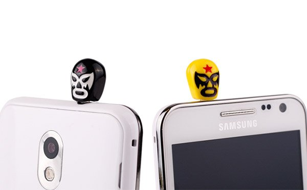 luchador headphone plugs 1