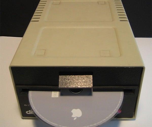 Mac Mini Apple ][ Disk Drive Hits the Auction Block