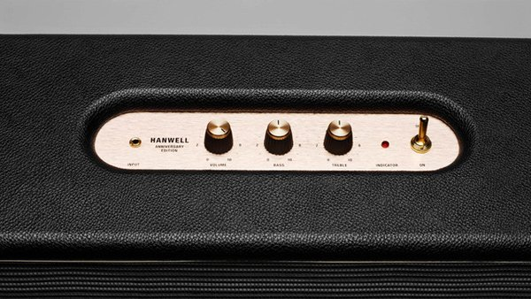 marshall hanwell audio speaker home analog