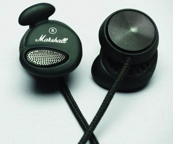 Marshall Minor Pitch Black Earphones: These Buds Stay in!