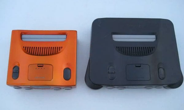 n64 mini compared