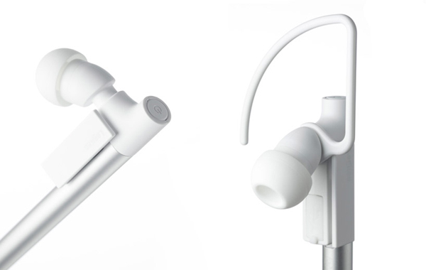 nendo logitec stylo bluetooth headset close