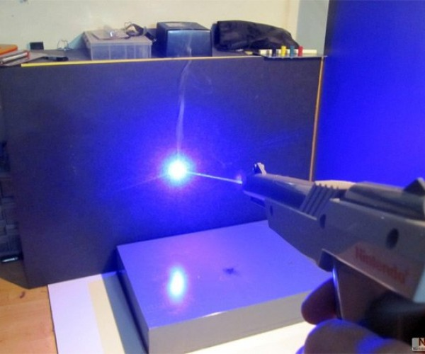 NES Zapper Modded into a Laser Gun