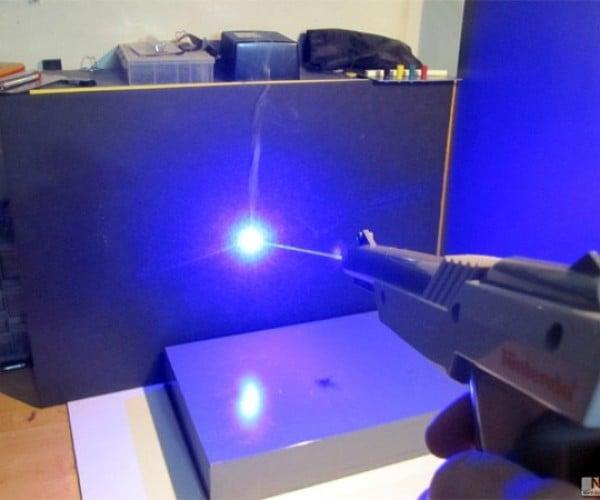 NES Zapper Modded into a Laser Gun