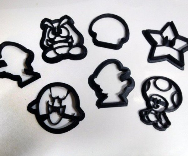 Super Mario Bros. Cookie Cutters  Make Some Sugary 1-up Mushrooms