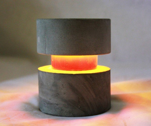O-Lite Concrete Accent Lamp Looks Great, Won't Break the Bank