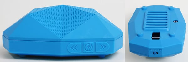 outdoor technology turtle shell speaker side