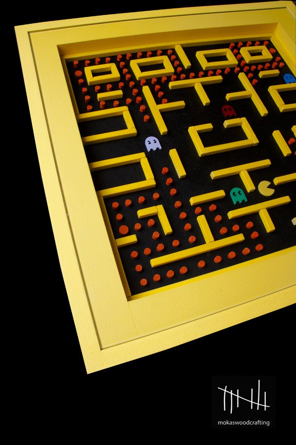 pac man table 2