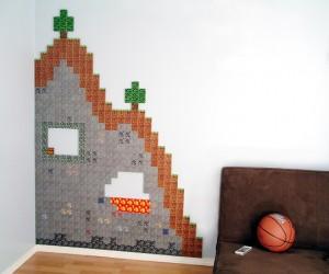 Papercraft Minecraft Terrains: Wallcraft