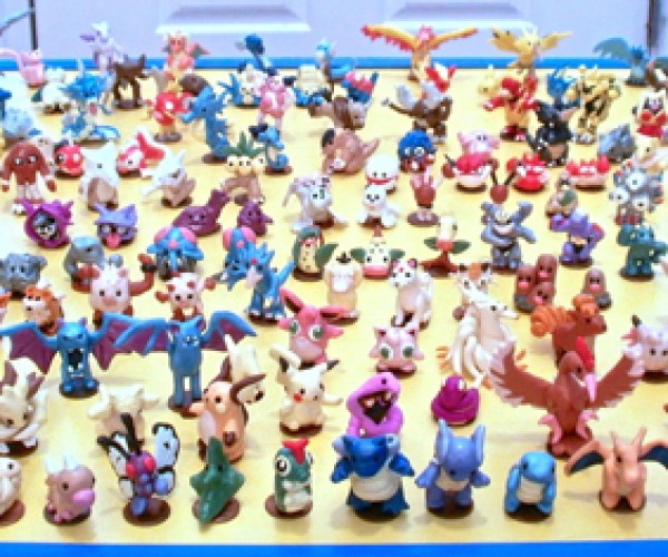 Pokémon Generation 1 Clay Figurines: Pennymon