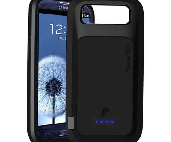 PowerSkin Case for Samsung Galaxy S III Adds Battery, Supports NFC