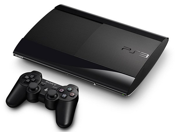 ps3 slim black