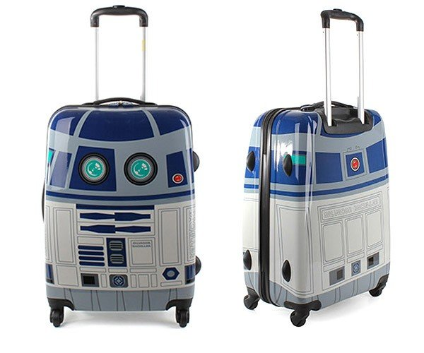 R2-D2 Suitcase Carries More Than Holograms