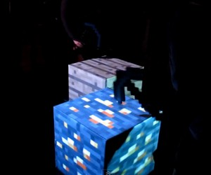 Real Life Interactive Minecraft Blocks: No Redstone Needed