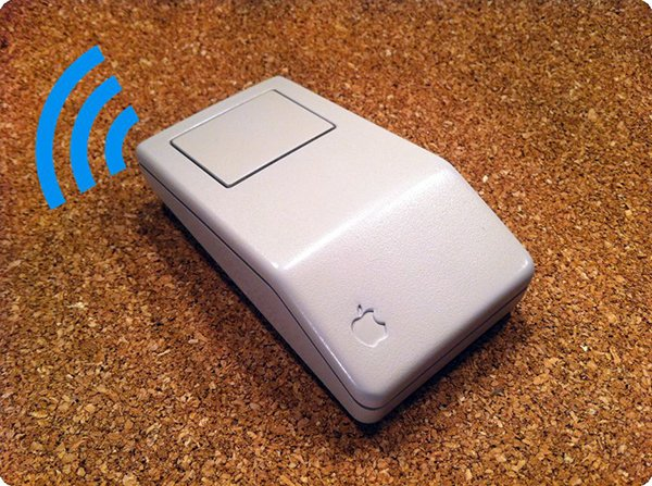 retro bluetooth apple wireless mouse