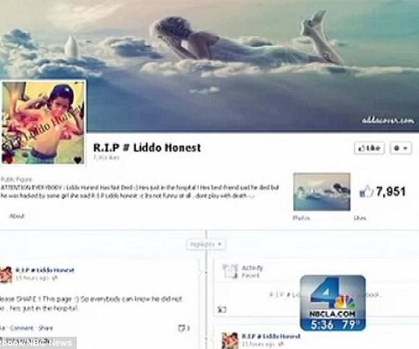 Teen Pranksters' Facebook Trick Kid's Mom into Believing He Was Dead