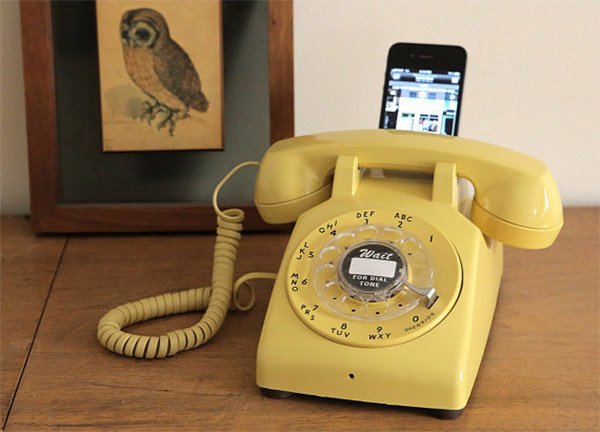 rotary dial iphone dock 3
